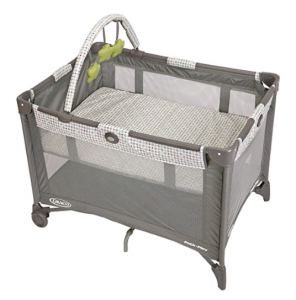 Pack N Play Playard Bassinet with Automatic Folding Feet