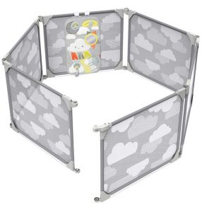 Skip Hop Baby Gate: Expandable or Wall Mounted Playpen