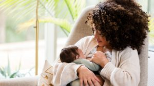 What do breastfeeding moms need